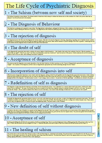 The Life Cycle of the Psychiatric Diagnosis